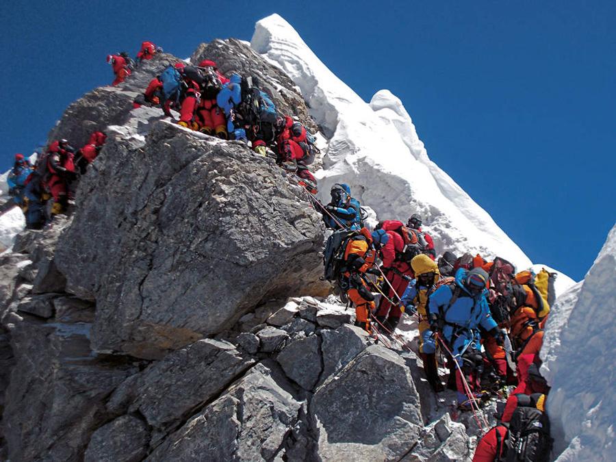 Ressaut Hillary - Everest