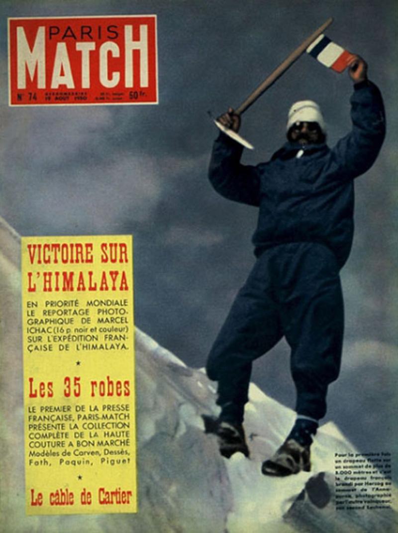 Maurice Herzog sur l'Annapurna - Paris-Match