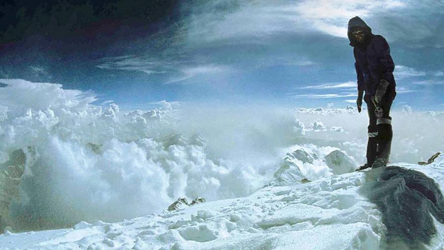 Reinhold Messner ai sommet du Nanga Parbat
