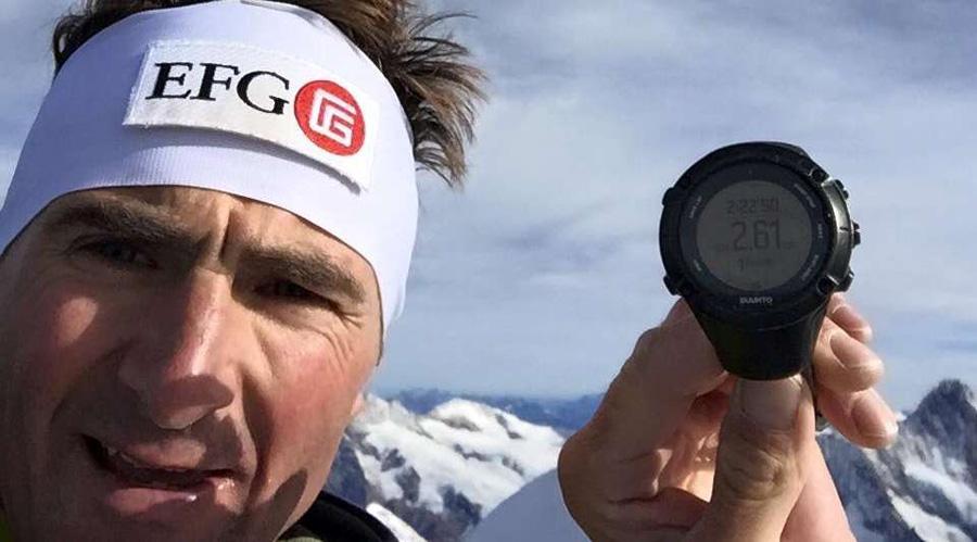 Ueli Steck record Eiger