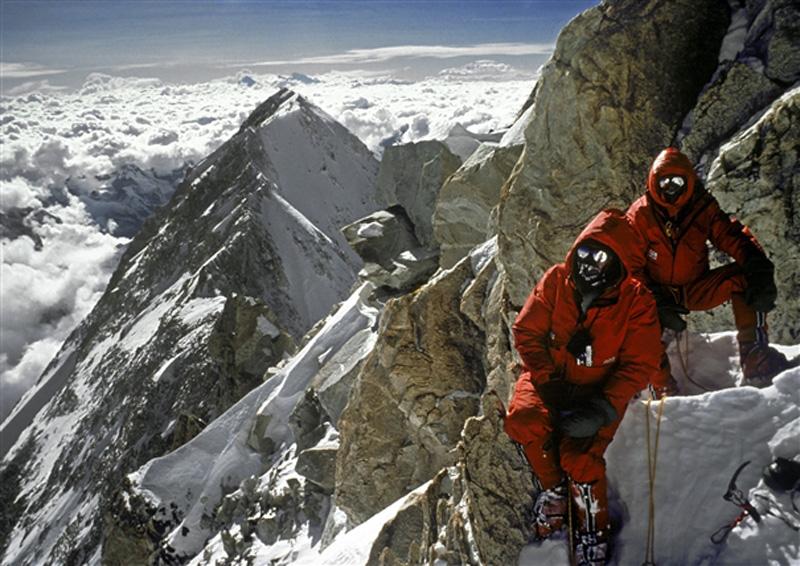 Peter Boardman et Joe Tasker au Kangchenjunga en 1979