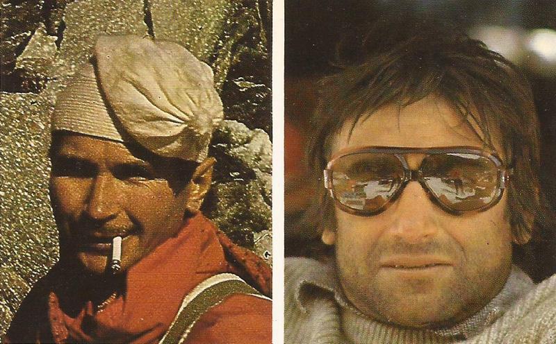Robert Paragot et Lucien Bberardini