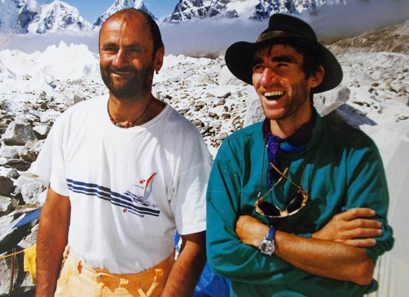 Jean Troillet et Erhard Loretan