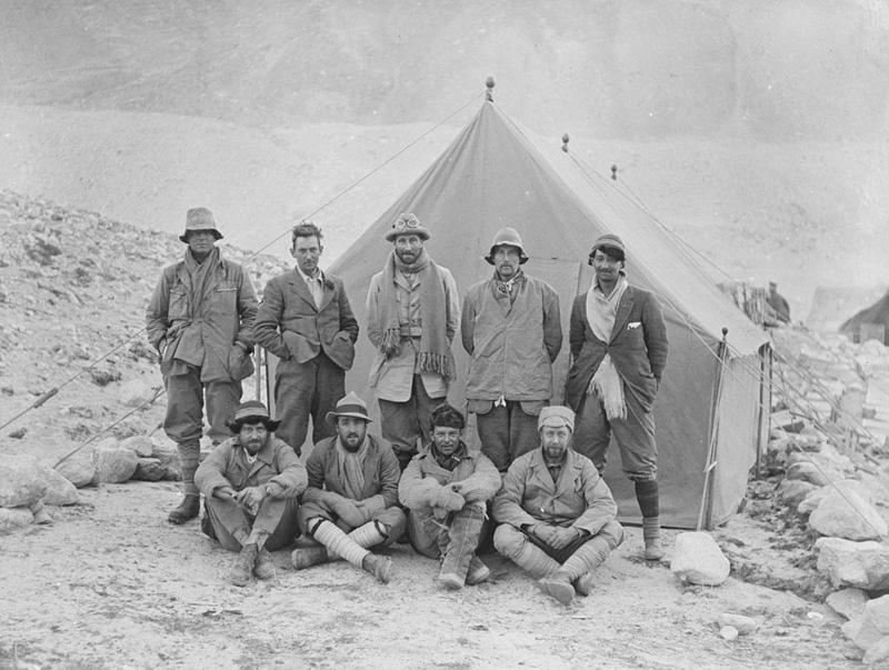 Expédition 1924 à l'Everest - George Mallory et Andrew Irvine
