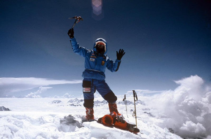 Jean Troillet - Everest 1986 avec Erhard Loretan
