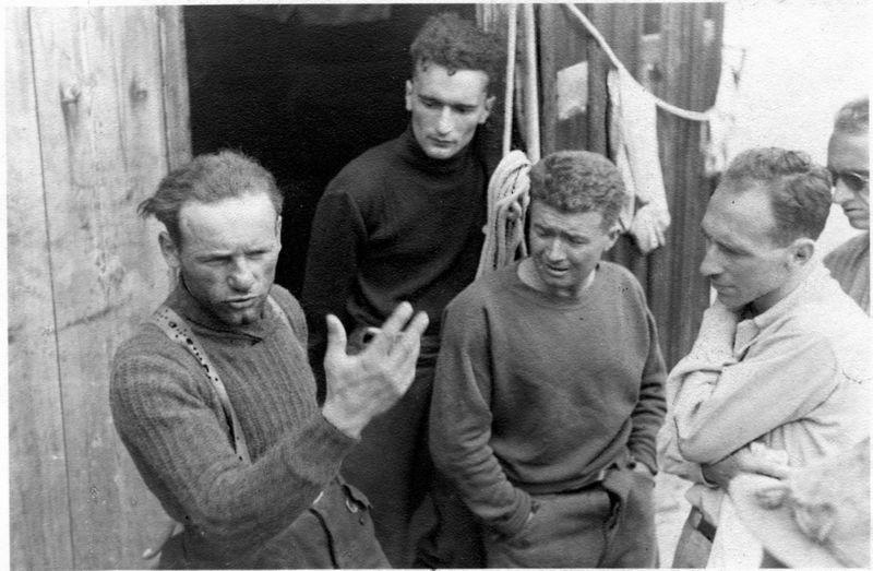 Riccardo Cassin après la Walker en 1938