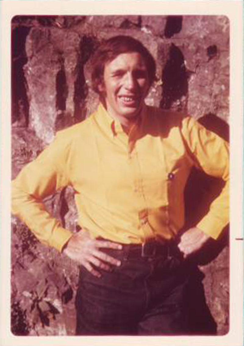 Claudio Barbier en jaune en 1971