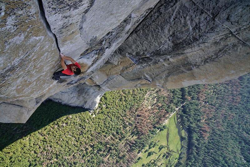 Alex Honnold en solo intégral sur Freerider à El Capitan