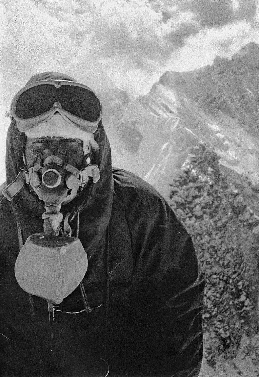 Fritz Luchsinger, Lhotse 1956