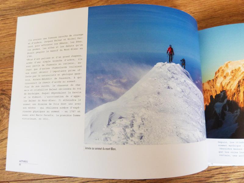 Chamonix - Mont Blanc (page intérieure)