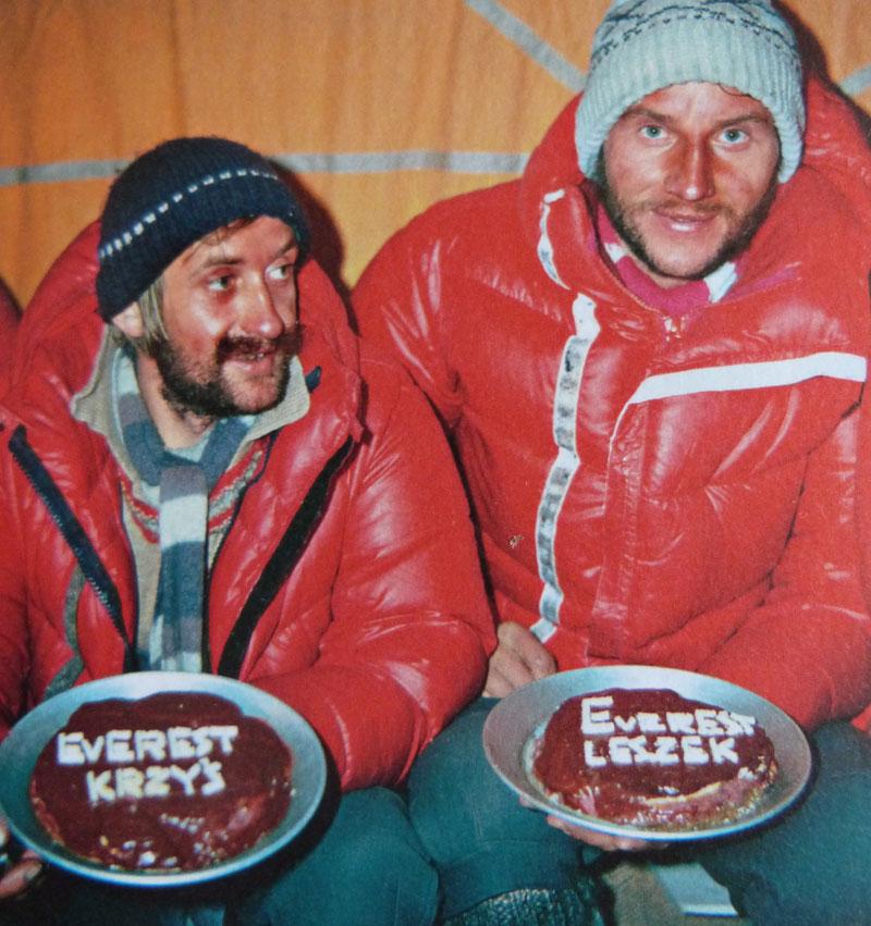 Leszek Cichy et Krzysztof Wielicki - Everest 1980