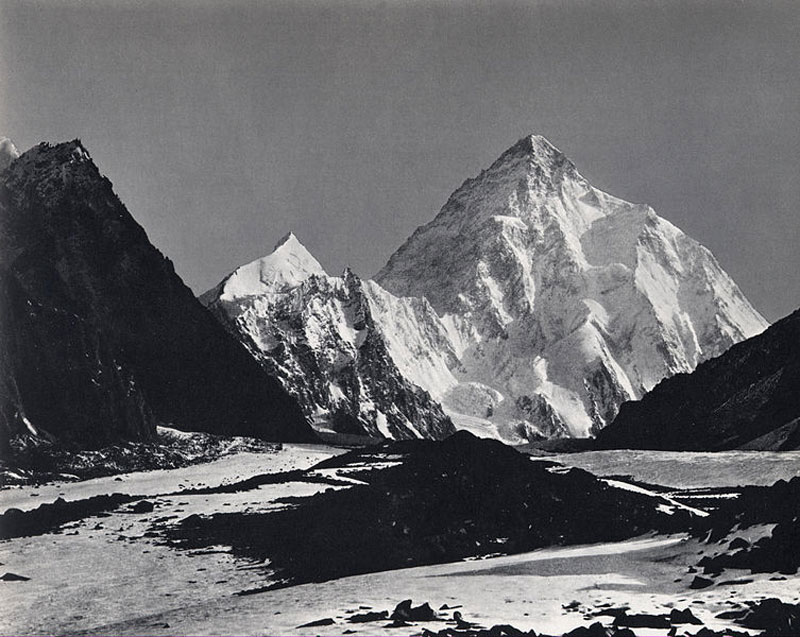 Le K2 en 1909