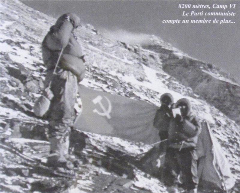 Everest 1960, les Chinois dans la face nord